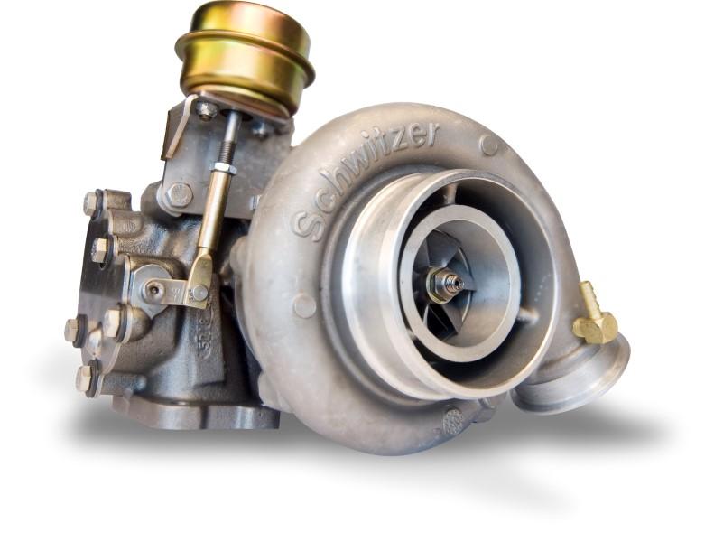 Udskiftning af turbo
